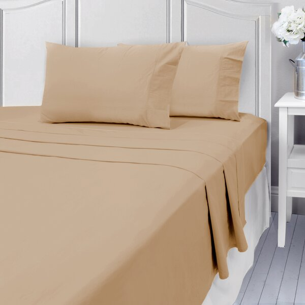 Linthicum 400 Thread Count 100% Cotton Sheet Set by Three Posts
